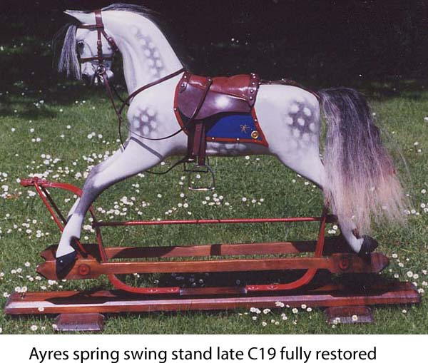 Ayres spring swing stand rocking horse