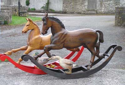 antique rocking horse plans